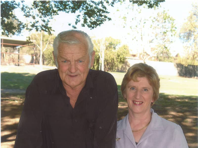 Irene & Bruce from Corowa, New South Wales, Australia