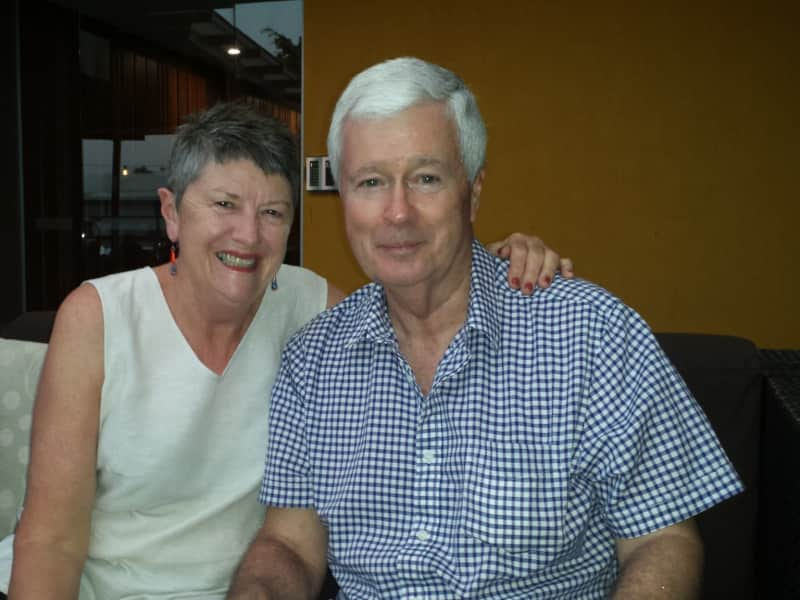 Pat & Bruce from Newcastle, New South Wales, Australia