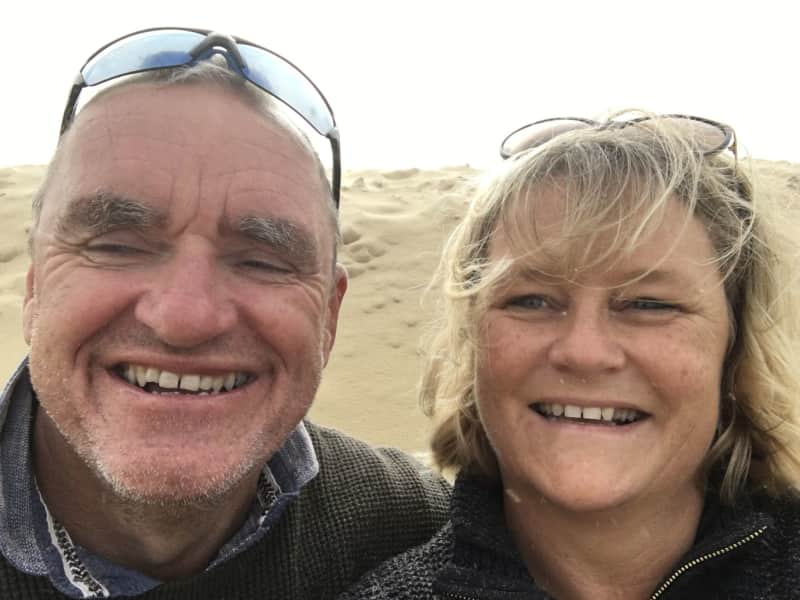 Jo & Adie from Roquebrune, France