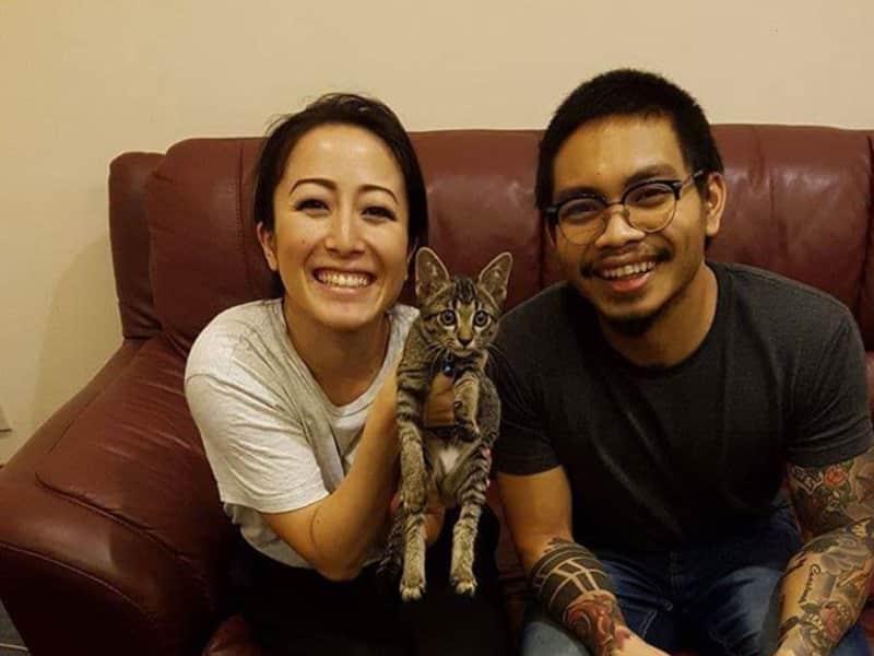 Azrin & Kiyoko from Kota Kinabalu, Malaysia