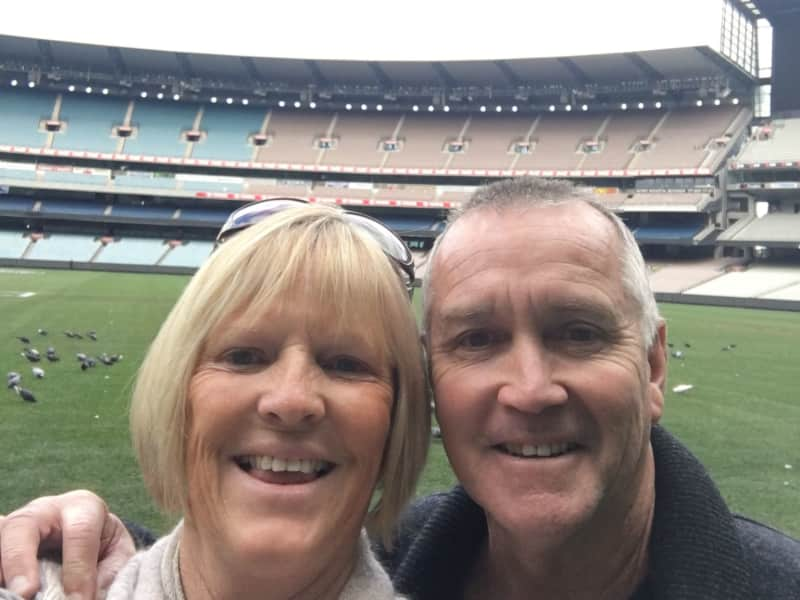 Samantha & Peter from Mandurah, Western Australia, Australia