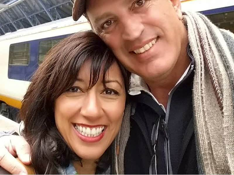 Kathy & Babak from Santa Fe, New Mexico, United States