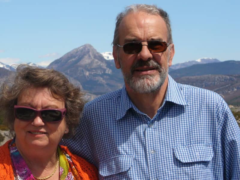 Susan & Paul from Newcastle, New South Wales, Australia