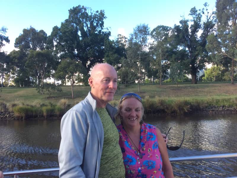 Karen & Stephen from Thap Khlo, Thailand
