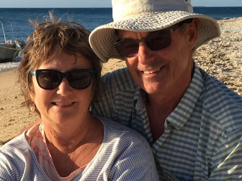 Judi & Jasper from Gisborne, New Zealand