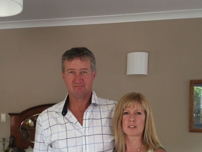 Joanne and steve & Steve from Raetihi, New Zealand