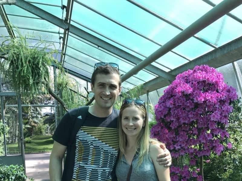 Simon & Sarah from Stuttgart, Germany