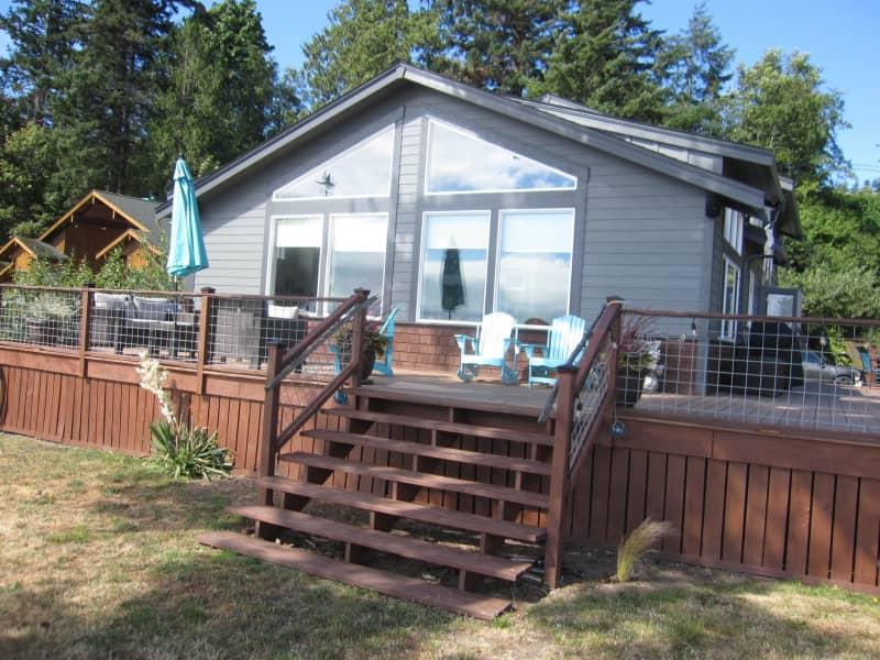 Housesitting assignment in Lummi Island, Washington, United States