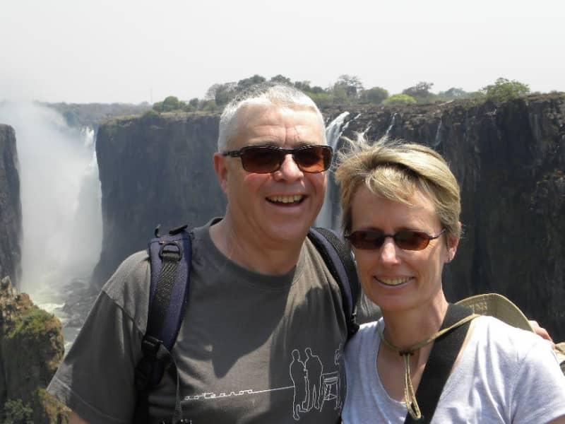 Sue & Ian from Lower Hutt, New Zealand