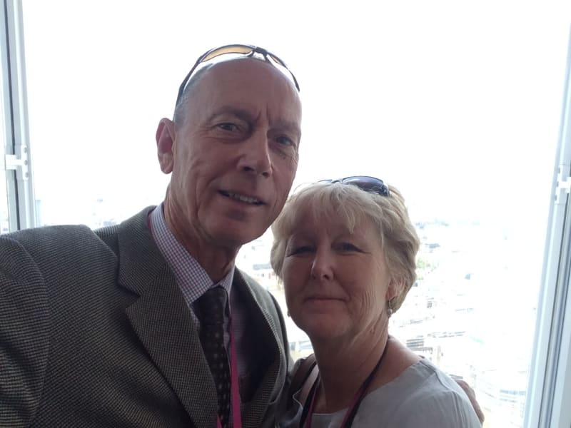 Stephen & Deirdre from Milton Keynes, United Kingdom