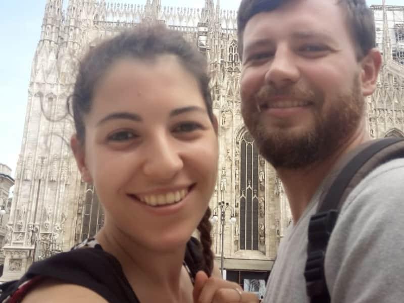 Annalisa & Yurii from Novara, Italy