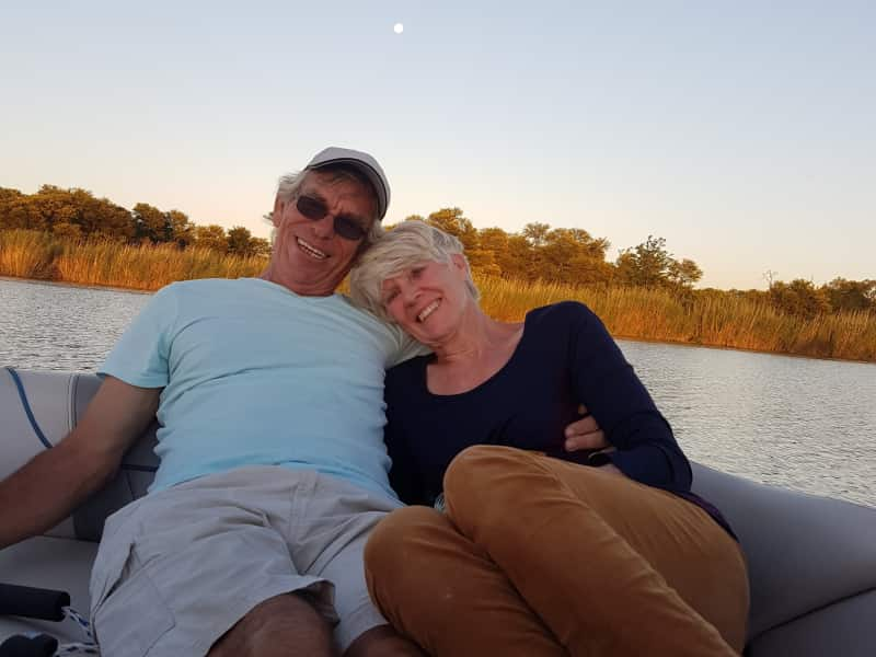 John & Jil from Sandton, South Africa
