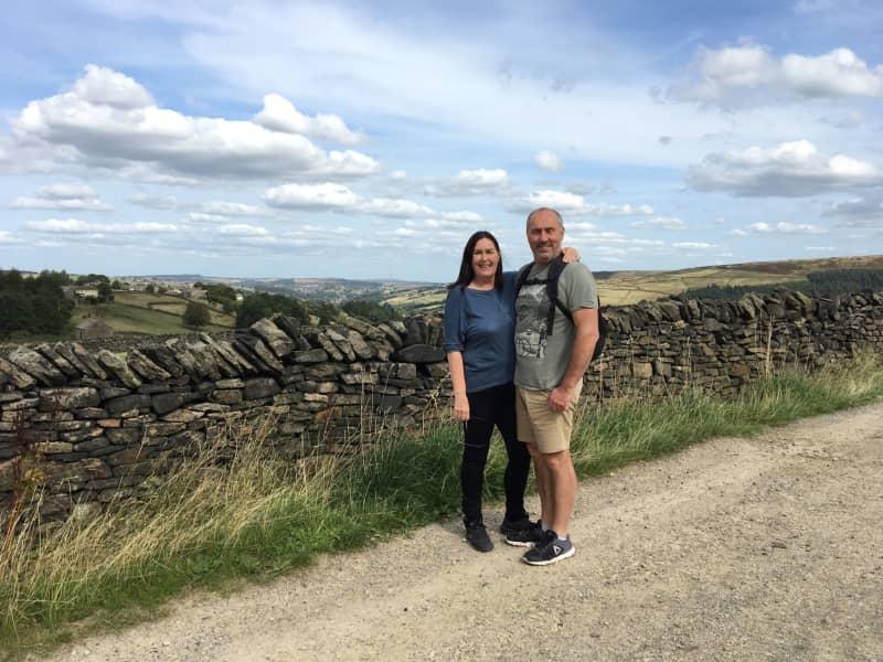 Andrew & Jackie from Slaithwaite, United Kingdom