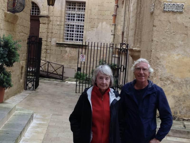 Herbert & Bridget from Valletta, Malta