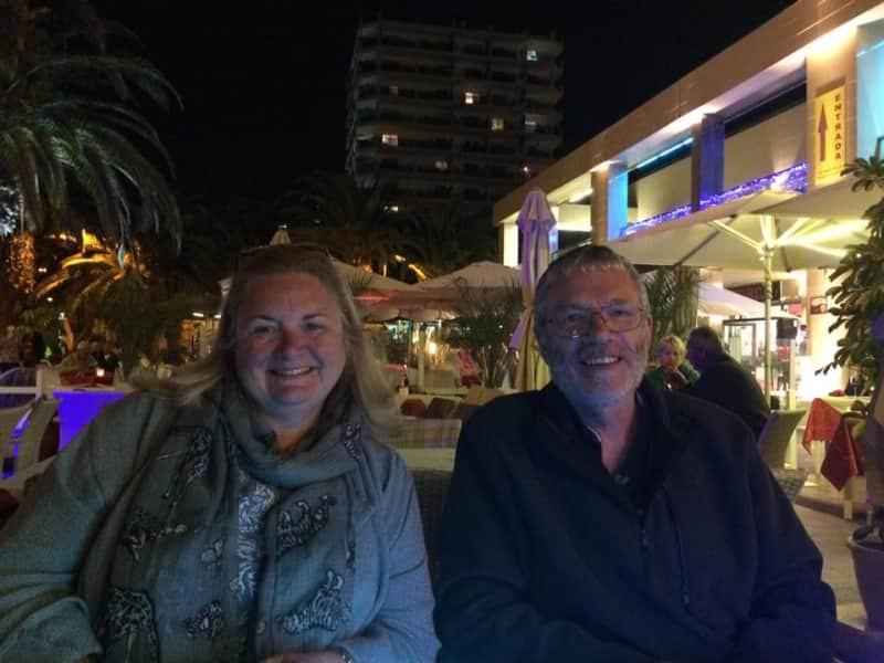 Alison & Robert from Leicester, United Kingdom