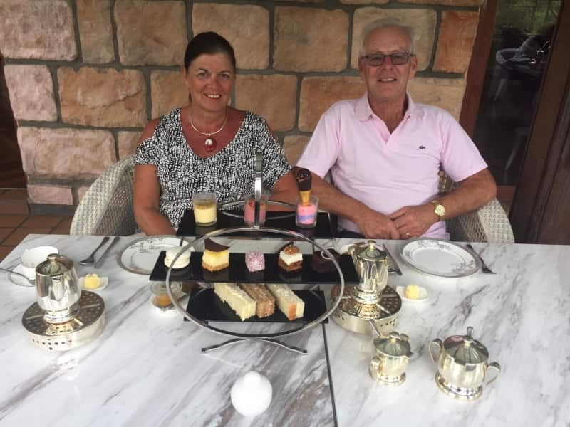 Tim & June from Beaulieu, United Kingdom