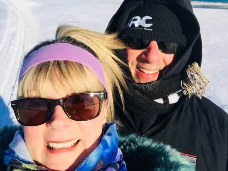 Elaine and darrell & Darrell from Gimli, Manitoba, Canada