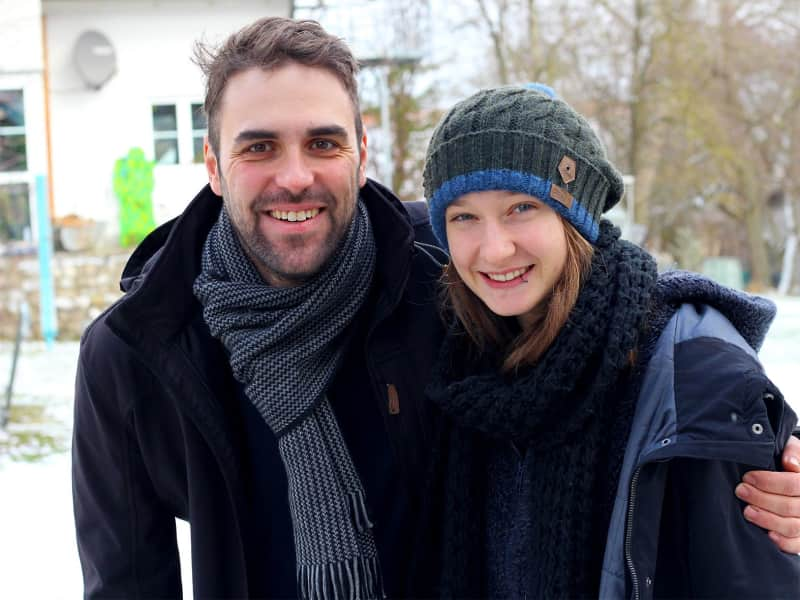 Sophia & Peter from Landsberg am Lech, Germany