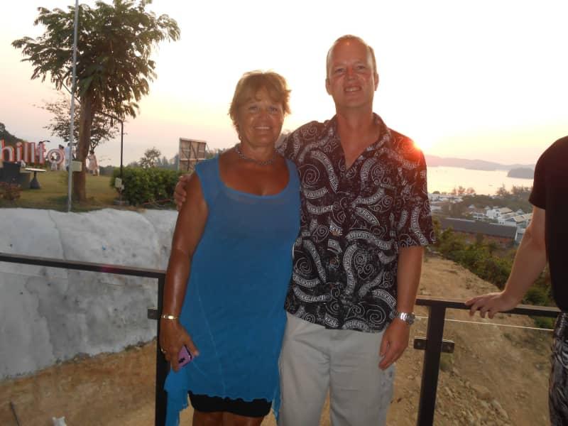 Kathy & Jeremy from Krabi, Thailand