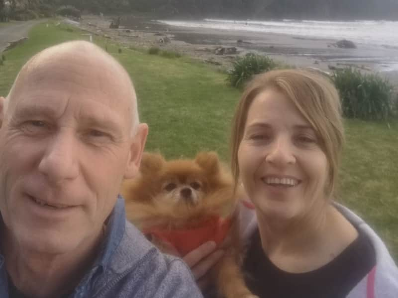 Angela & Steve from Taradale, New Zealand