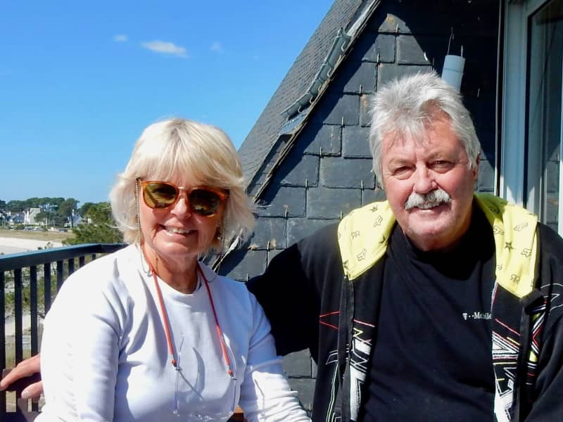 Terence & Susan from Carnac, France