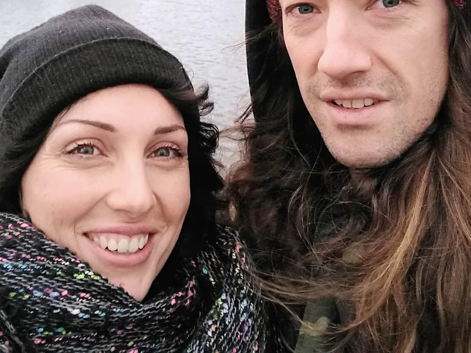 Andrea & Eric from Bratislava, Slovakia