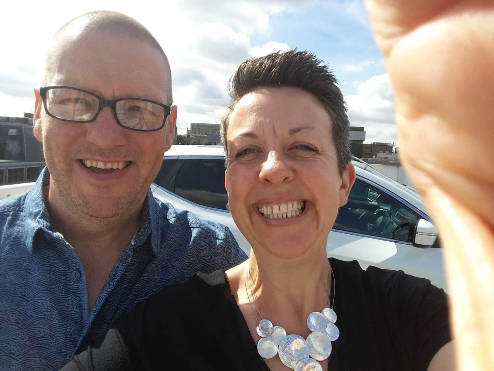 Becky & Steve from Truro, United Kingdom