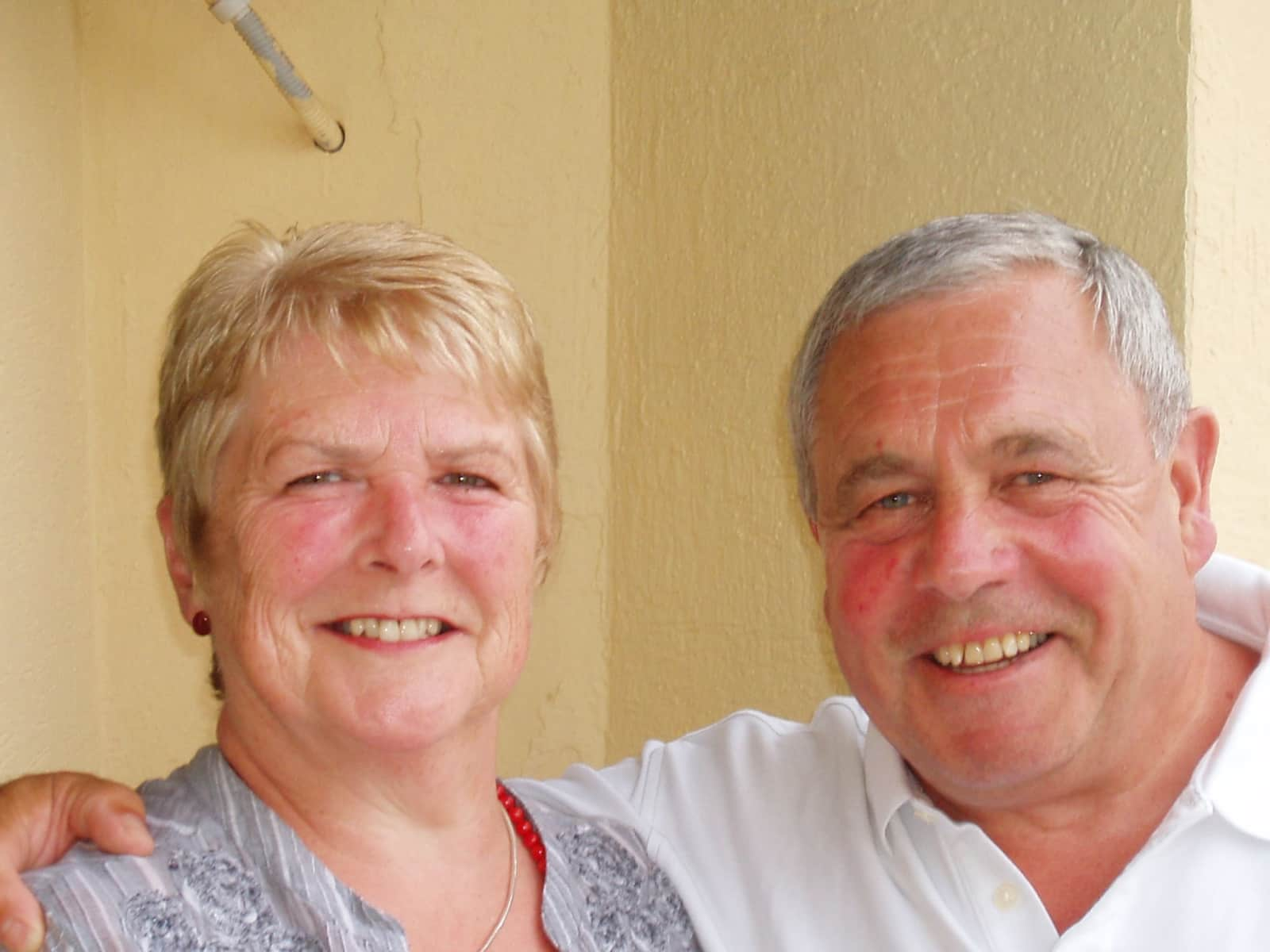 George & Mary from Great Sankey, United Kingdom