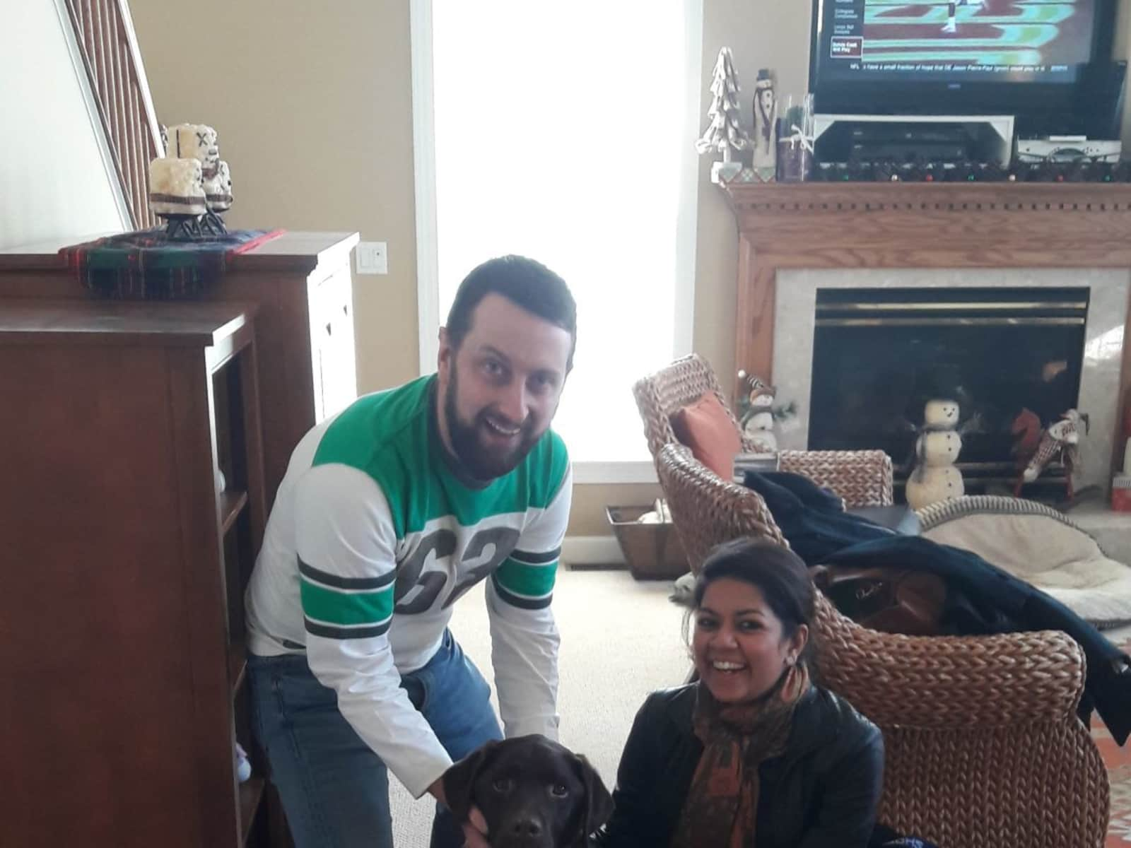 Nadia & Eoin from Flemington, New Jersey, United States