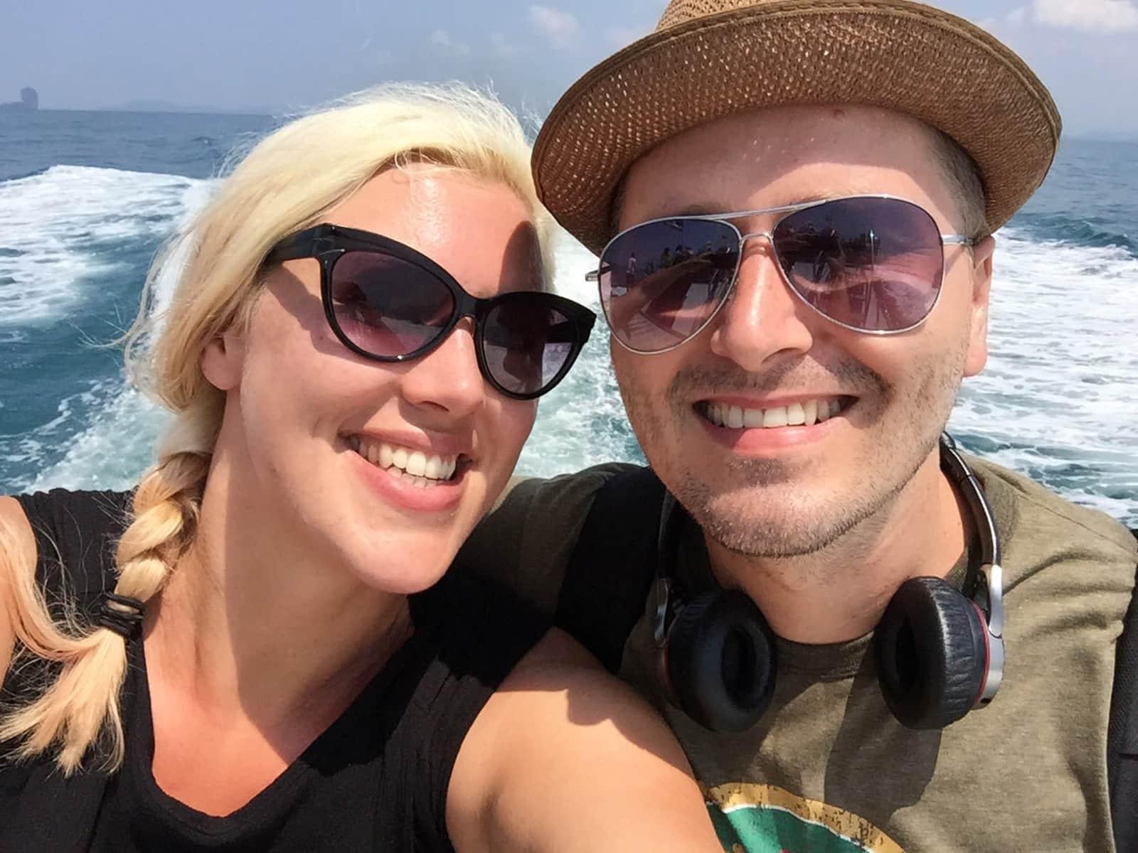 Amy & Steven from Melbourne, Victoria, Australia