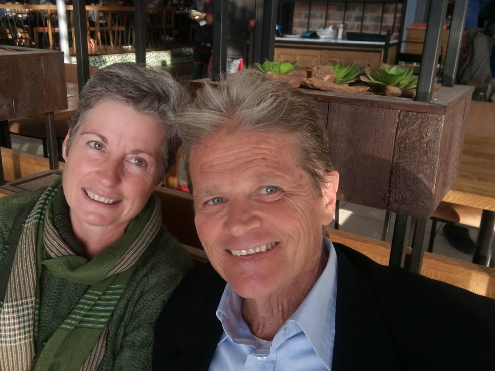 Jackie & Peter from Cape Town, South Africa