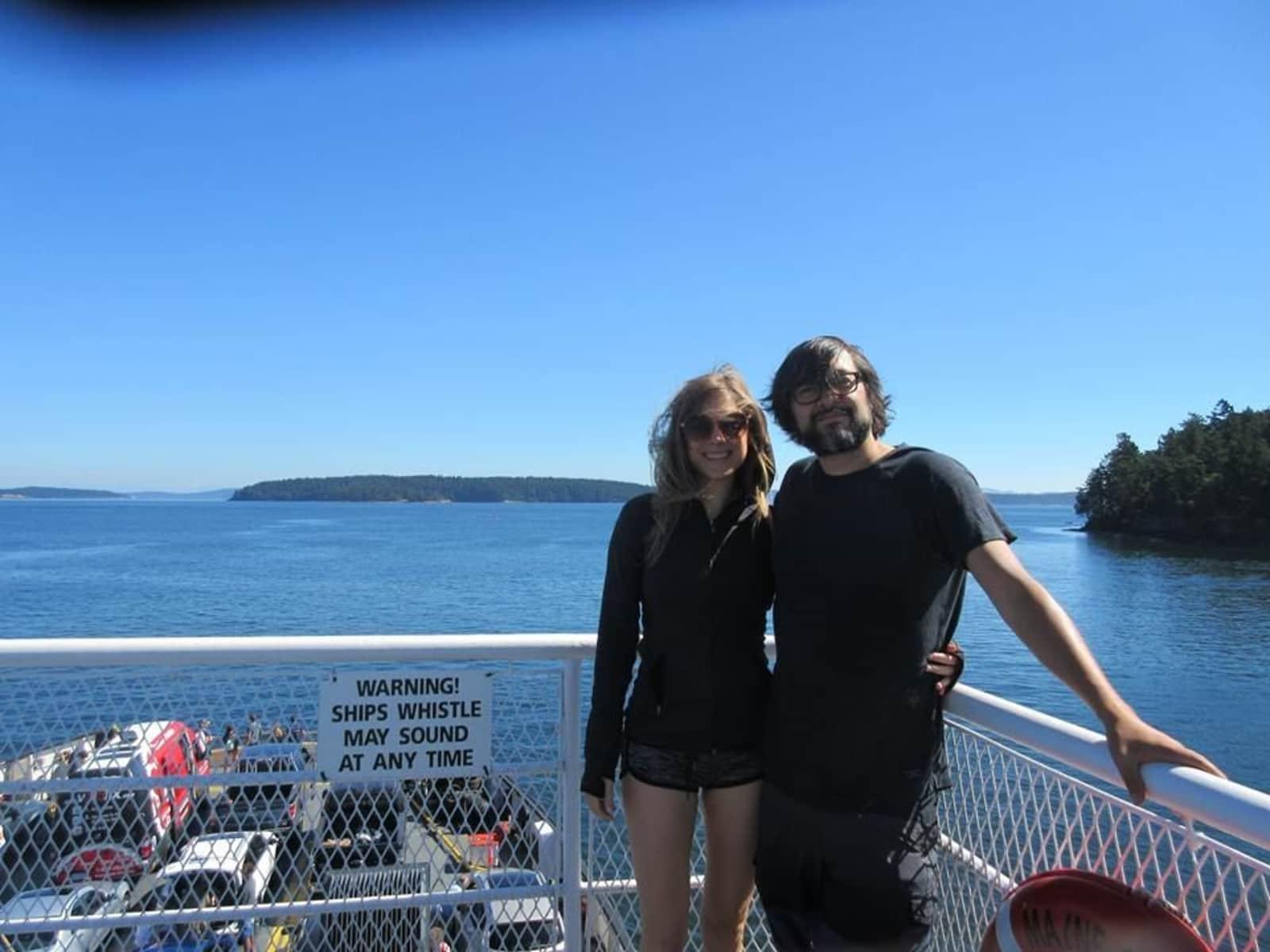 Rhiannon & Jose from Victoria, British Columbia, Canada