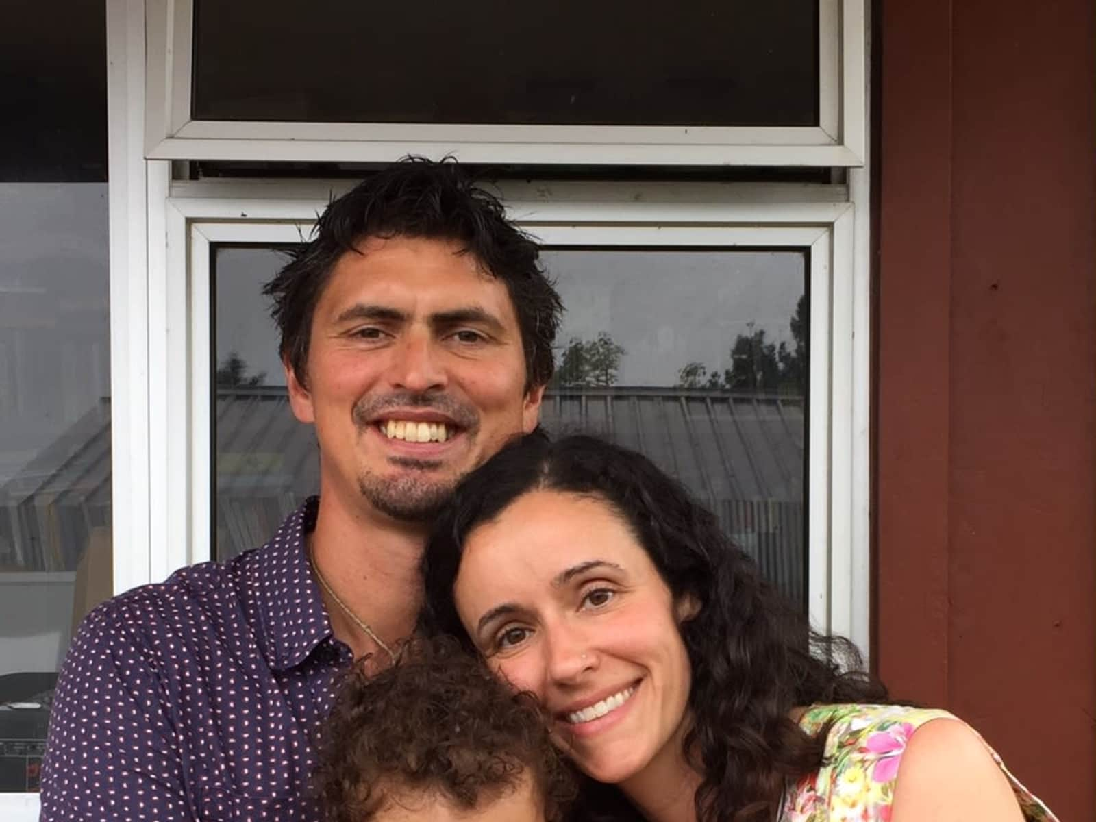 Kathy & Matt from Auckland, New Zealand