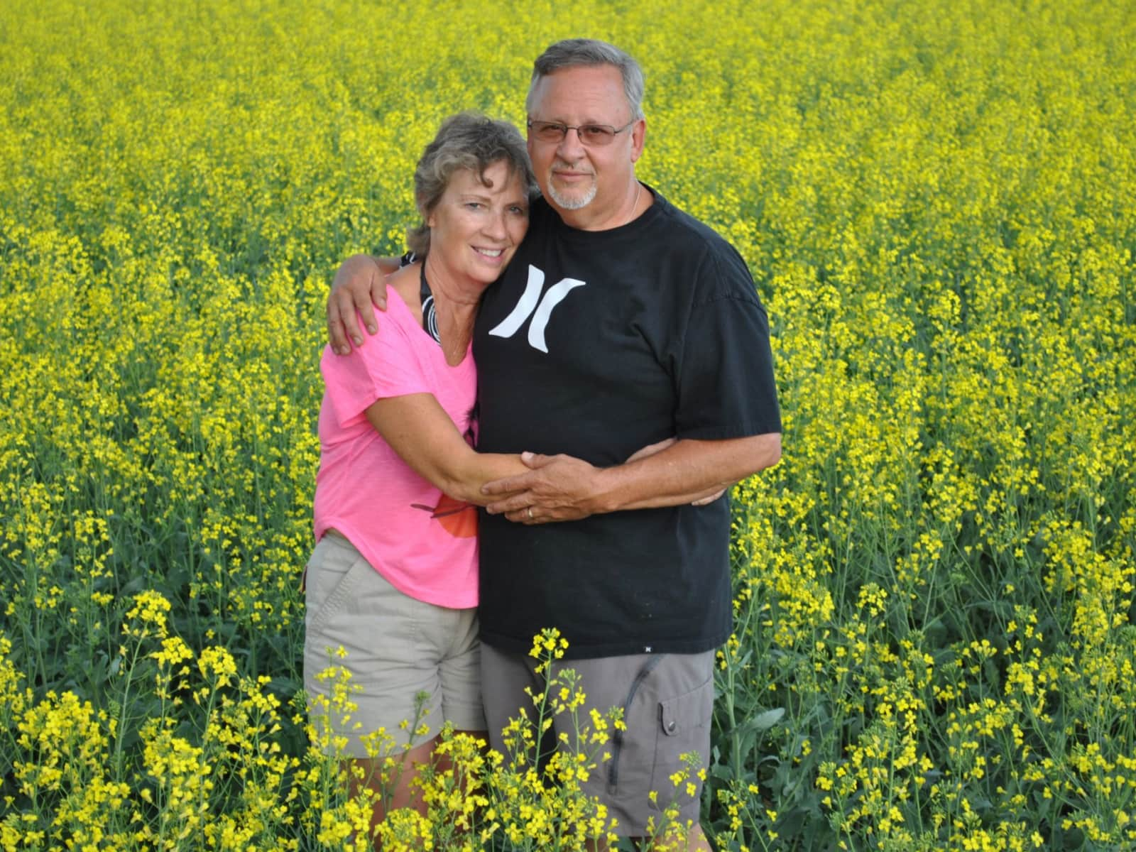 Larry & Ruth from Lacombe, Alberta, Canada