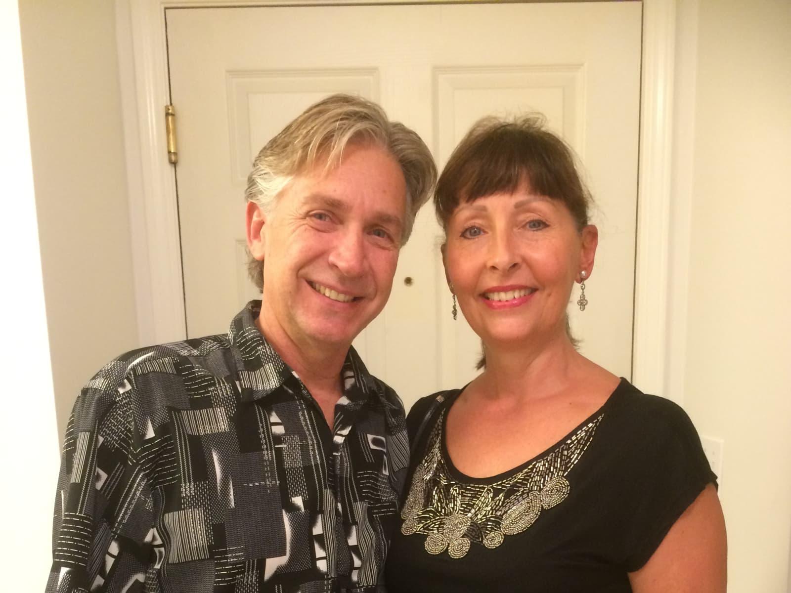 Carola & Thomas from Nueva Gorgona, Panama