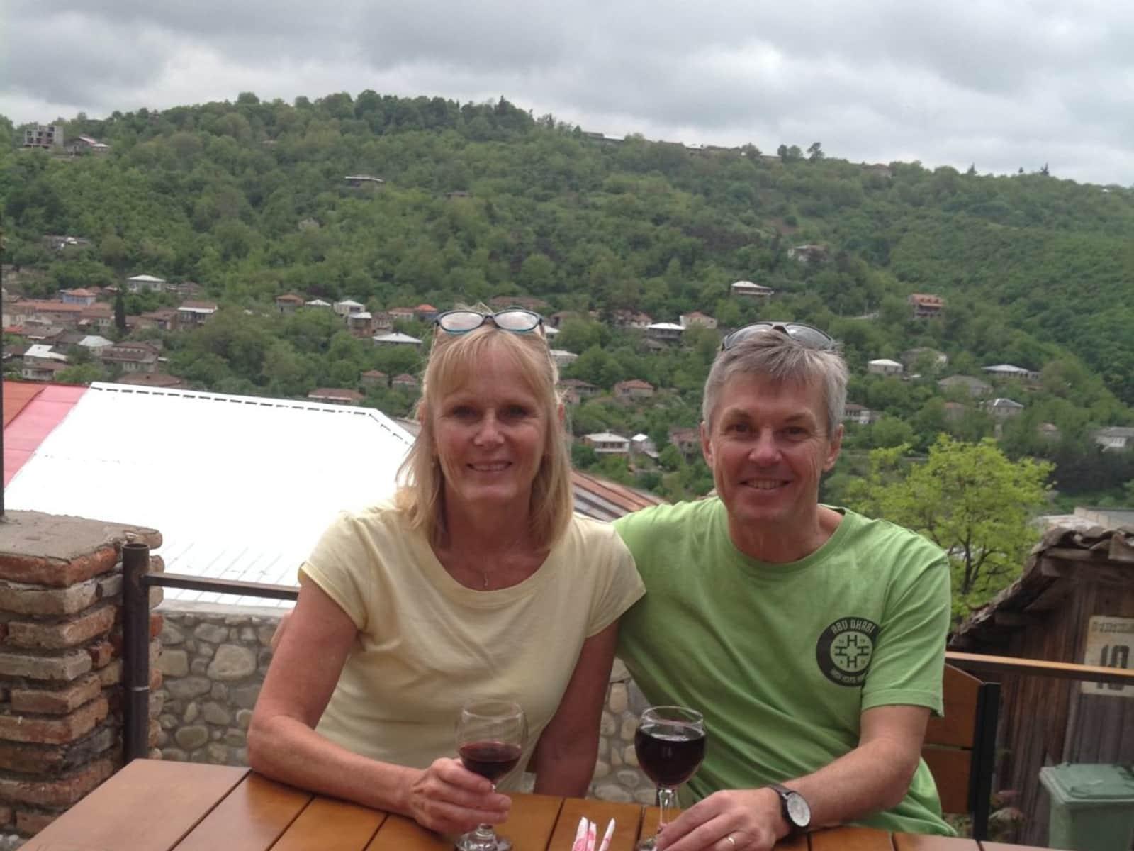 Rob & Karen from Saskatoon, Saskatchewan, Canada