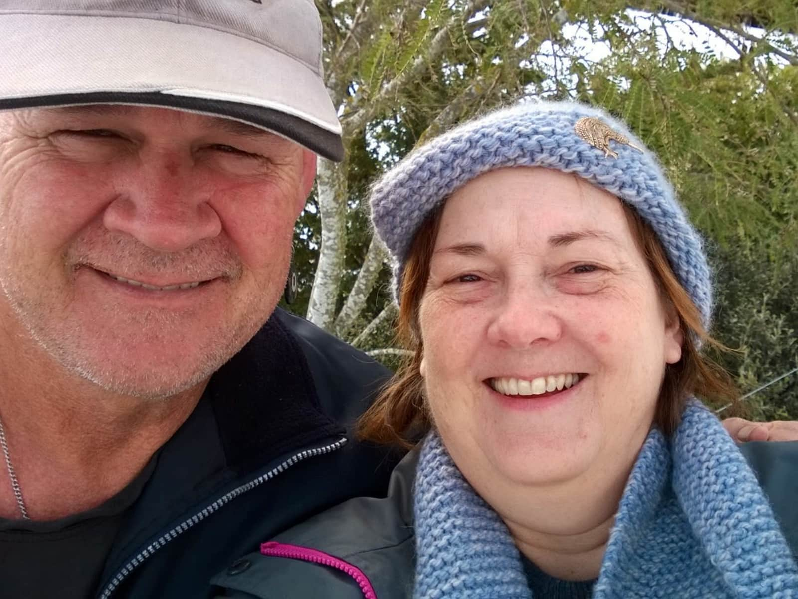 Stephany & Bruce from Christchurch, New Zealand