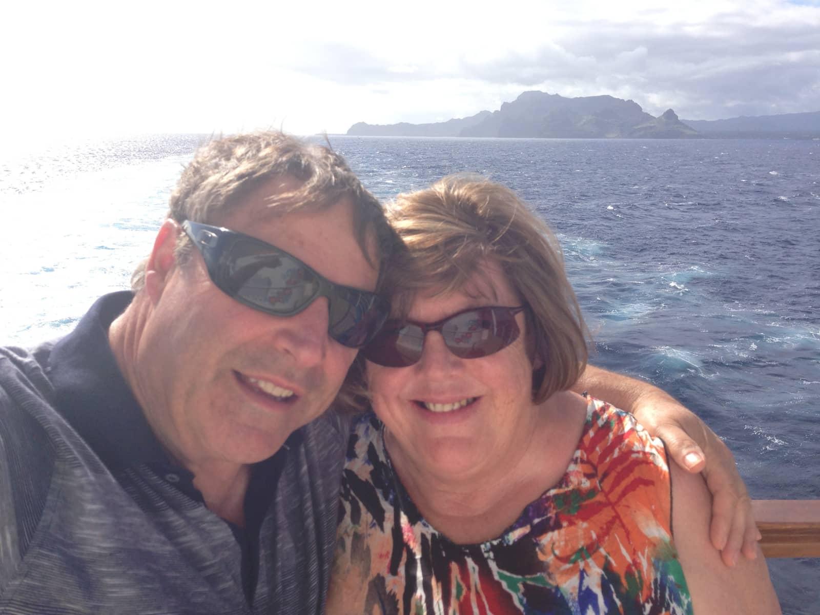 Neil & anne & Anne from Lower Hutt, New Zealand