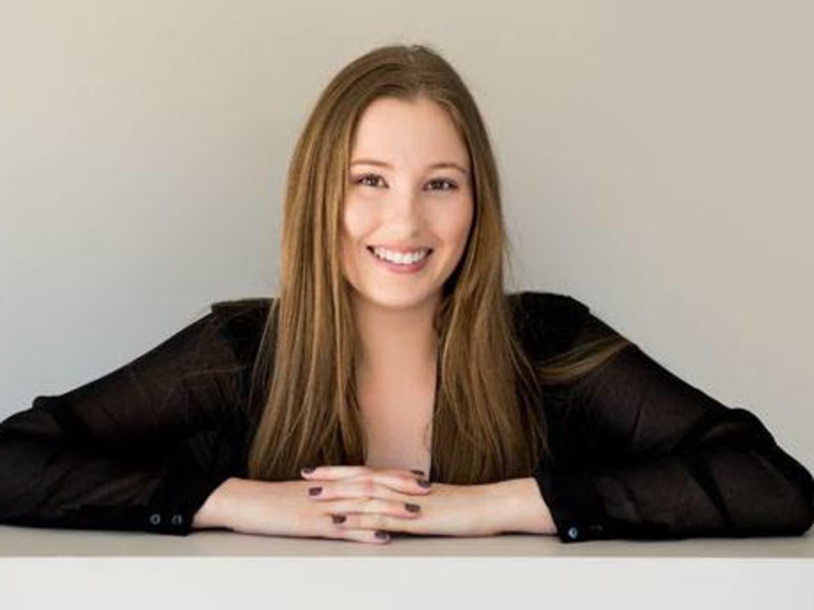 Ashleigh from Brisbane, Queensland, Australia