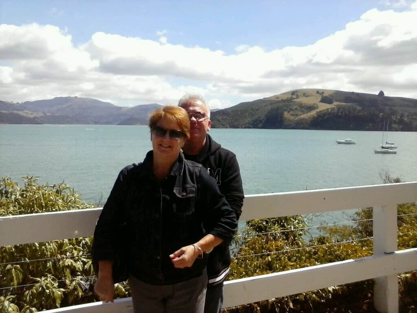 John & Carole from Christchurch, New Zealand