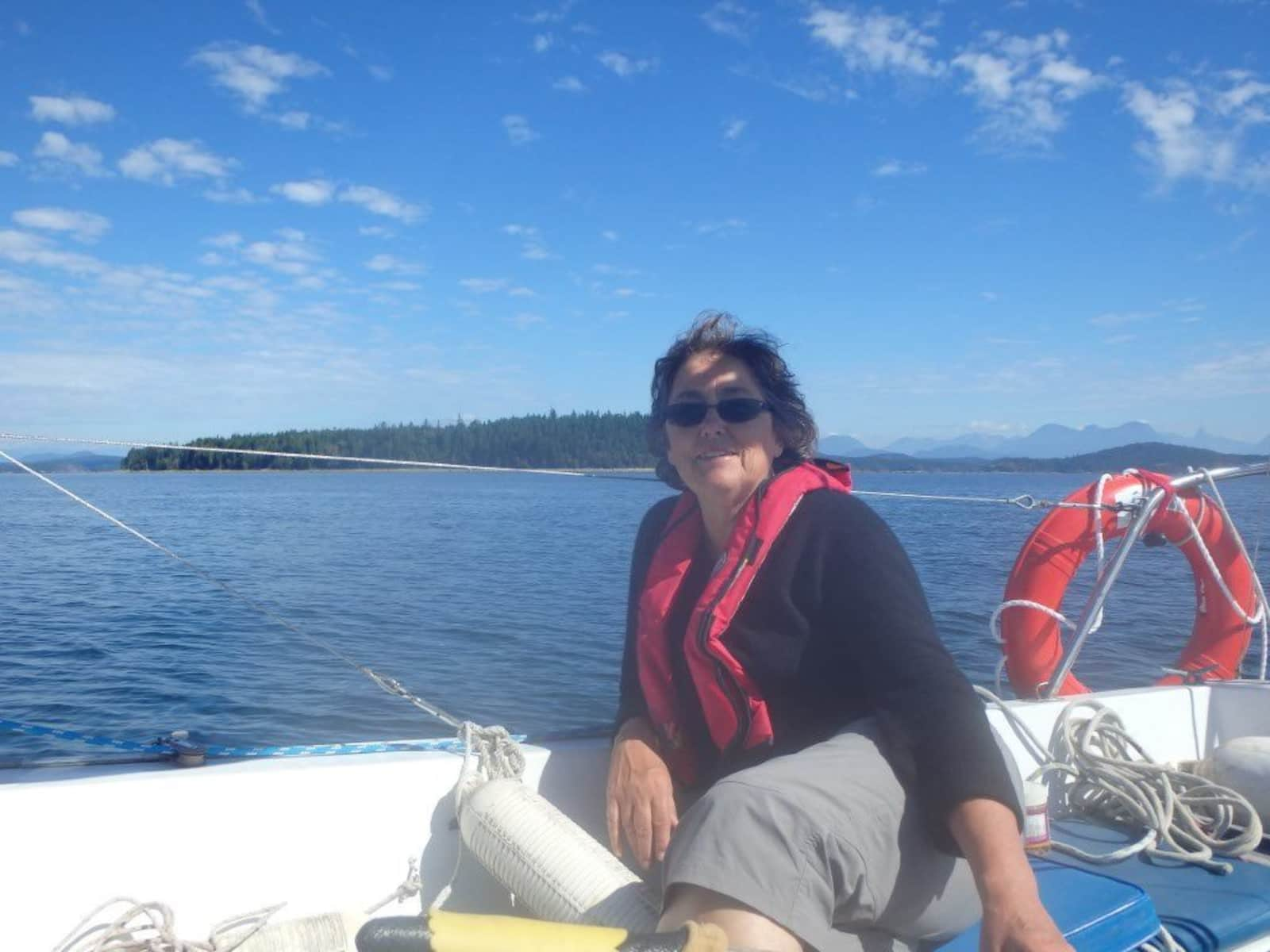 Eileen from Comox, British Columbia, Canada