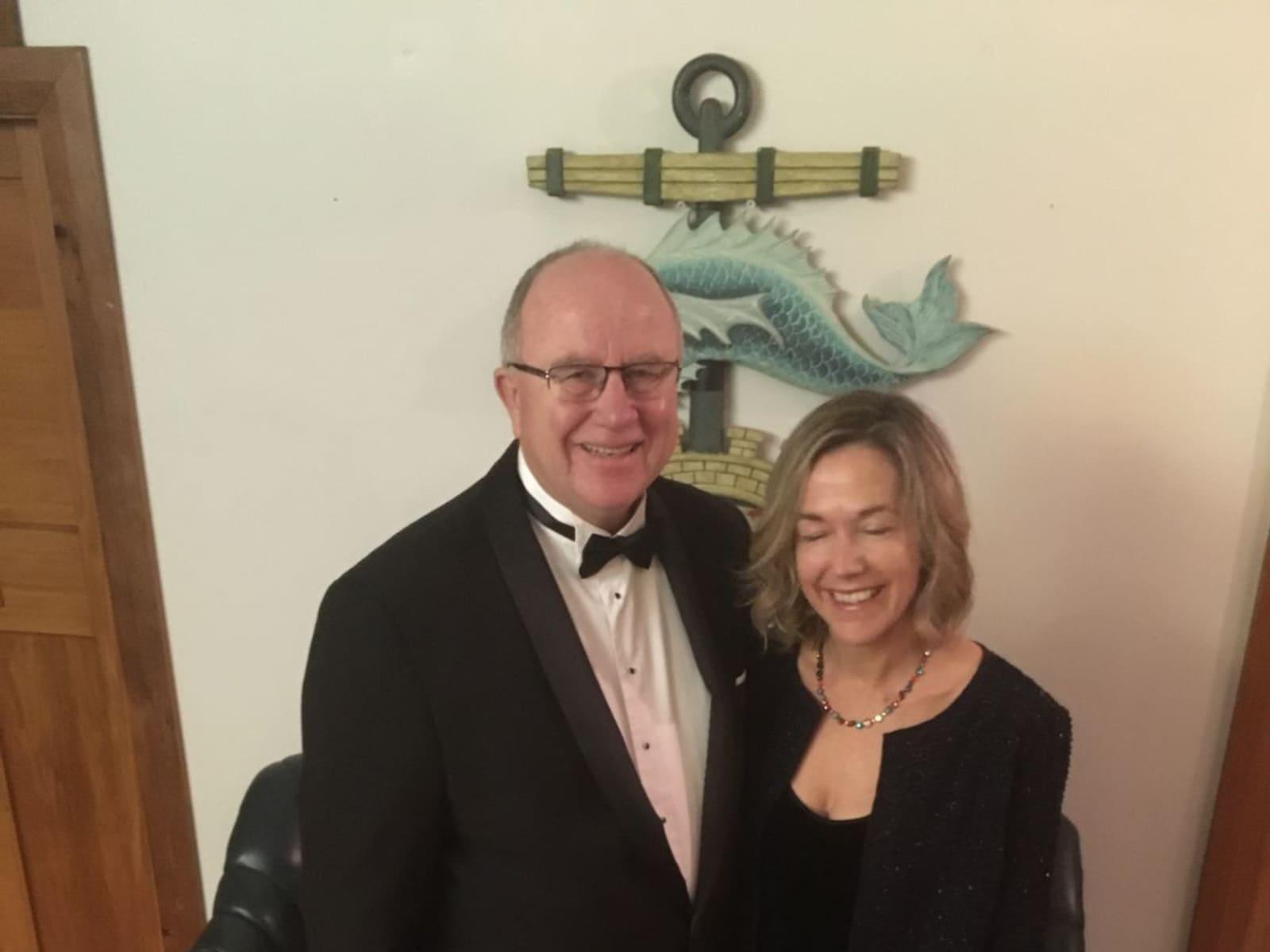 Tony & Janice from Wellington, New Zealand