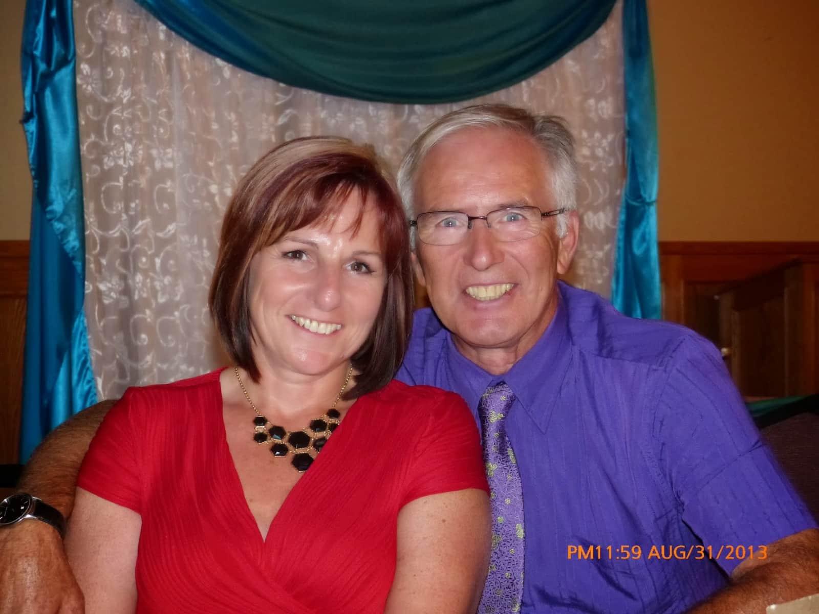 Lorraine & Ron from Calgary, Alberta, Canada