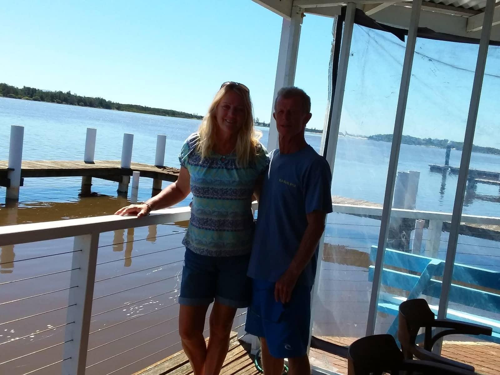 Carolyn & Bruce from Perth, Western Australia, Australia