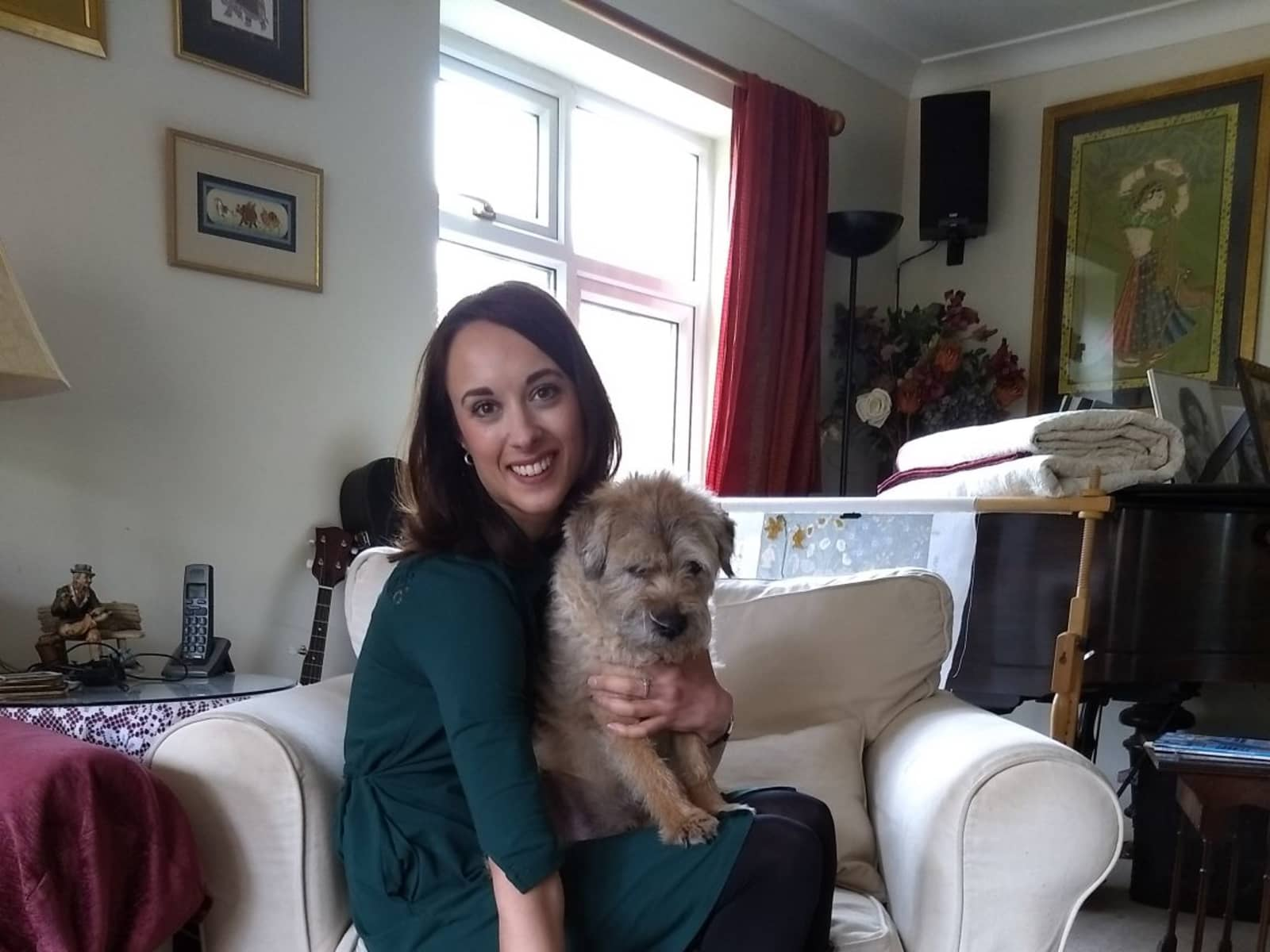 Lucia from Guildford, United Kingdom