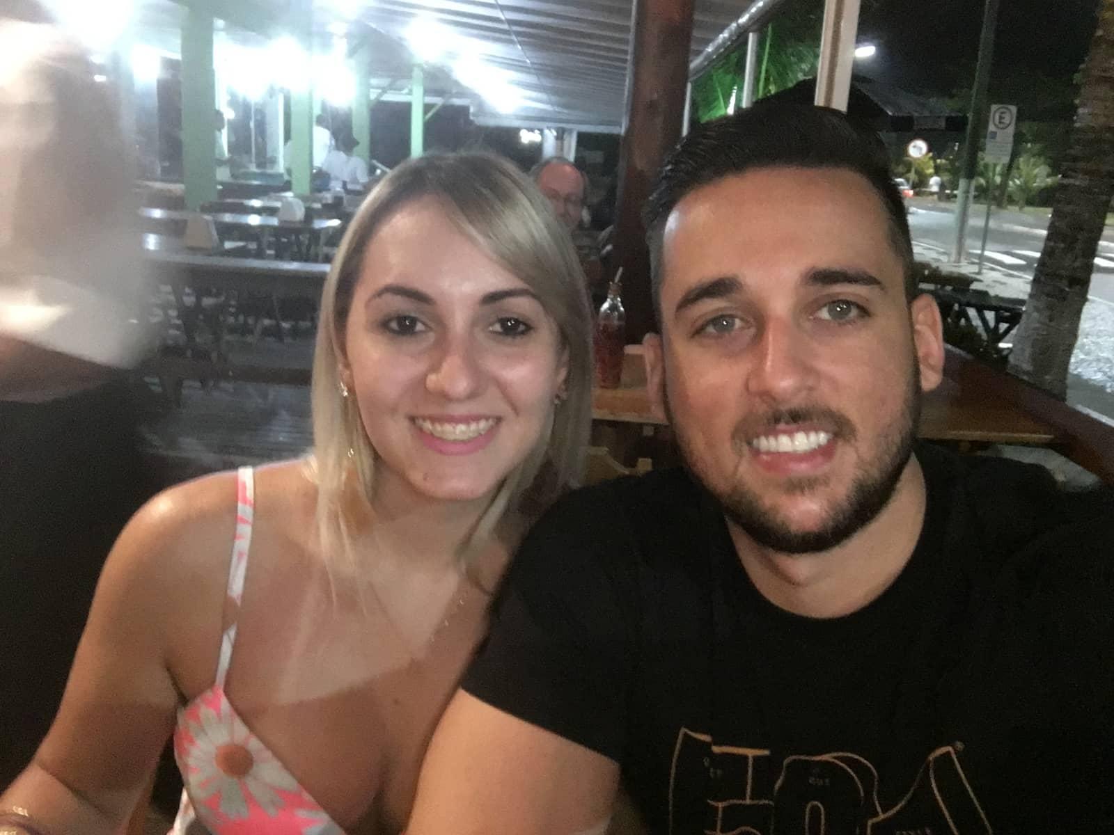 Vinicius & Tatiane from Foz do Iguaçu, Brazil