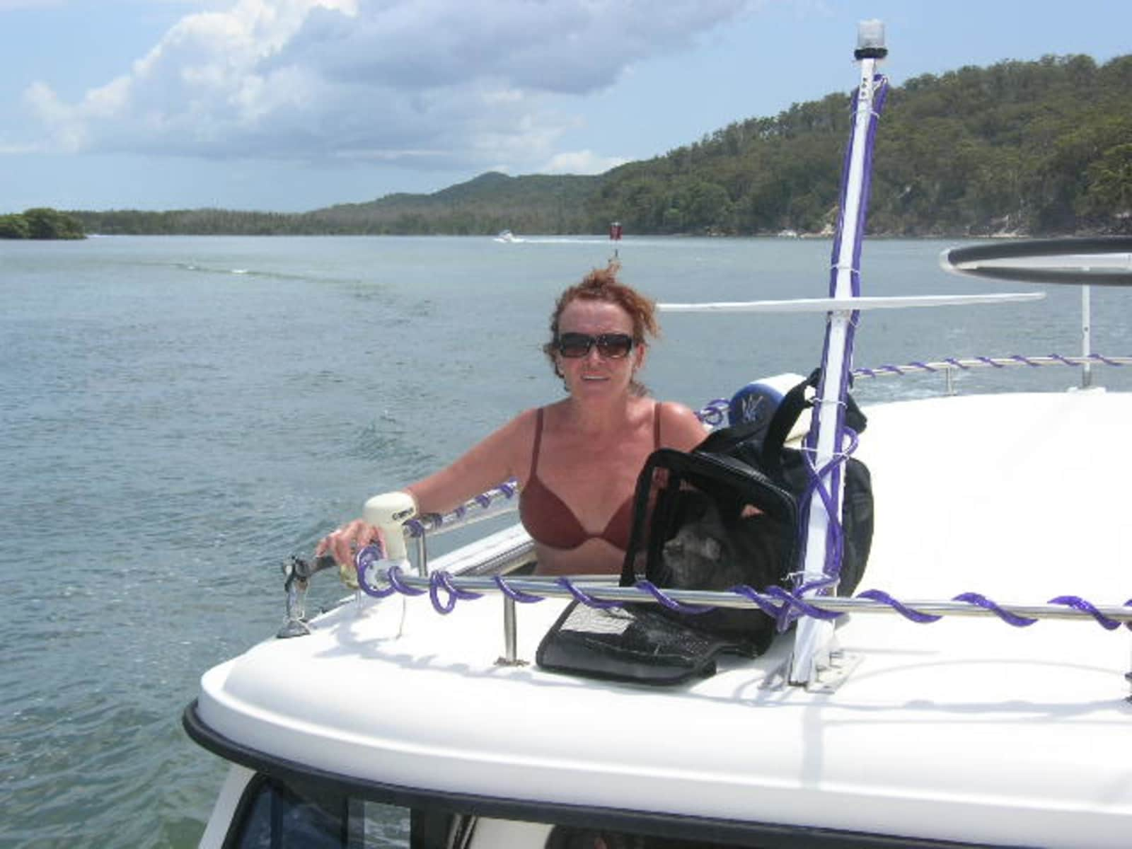 Lesley from Labrador, Queensland, Australia