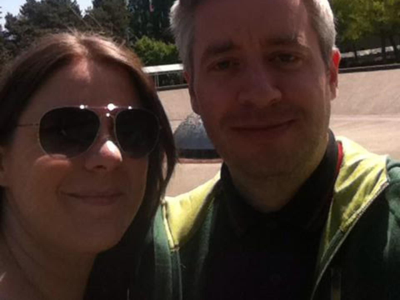 Claire & Scott from Edinburgh, United Kingdom