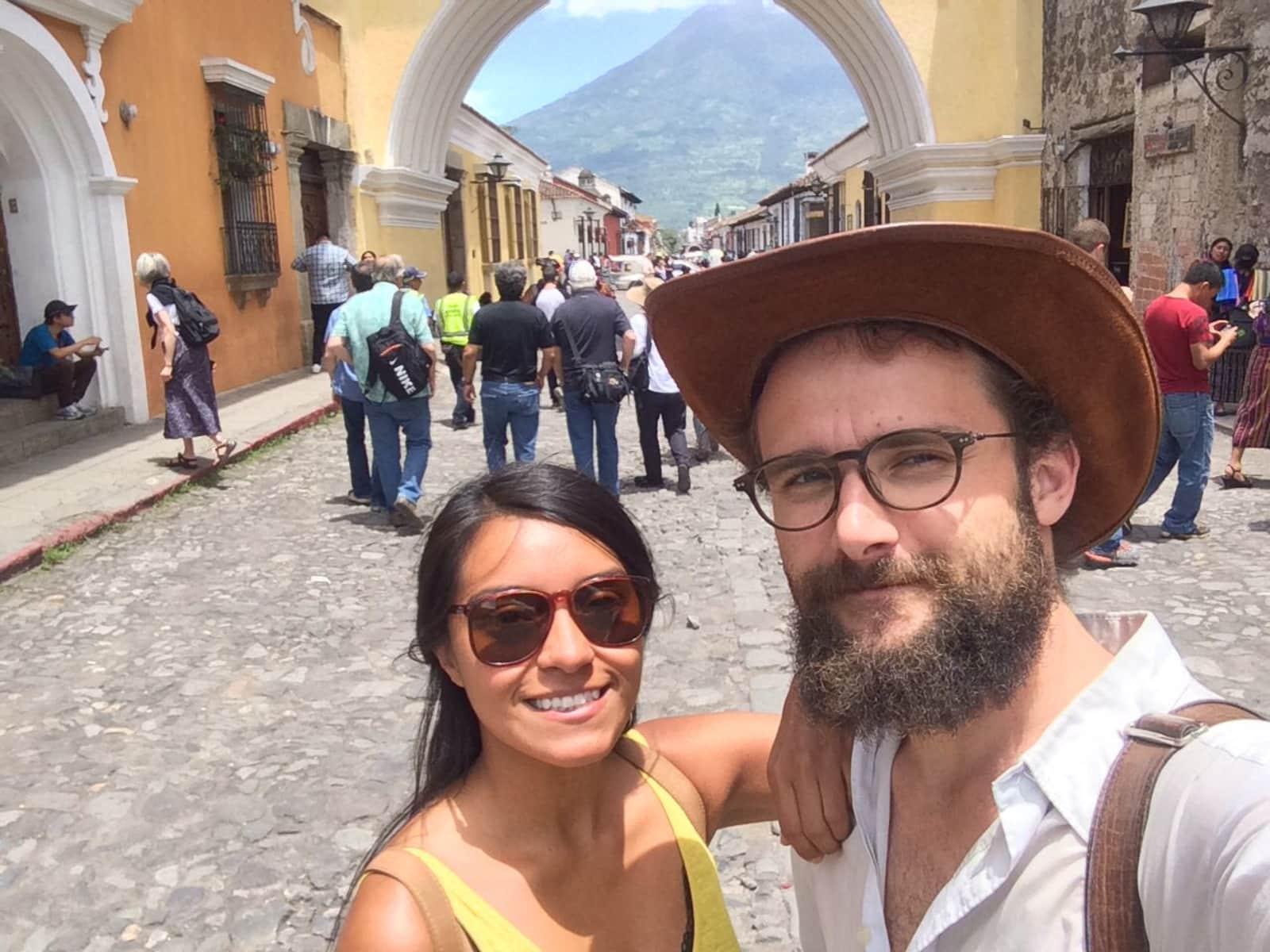 Jessica & Juraj from San Salvador, El Salvador