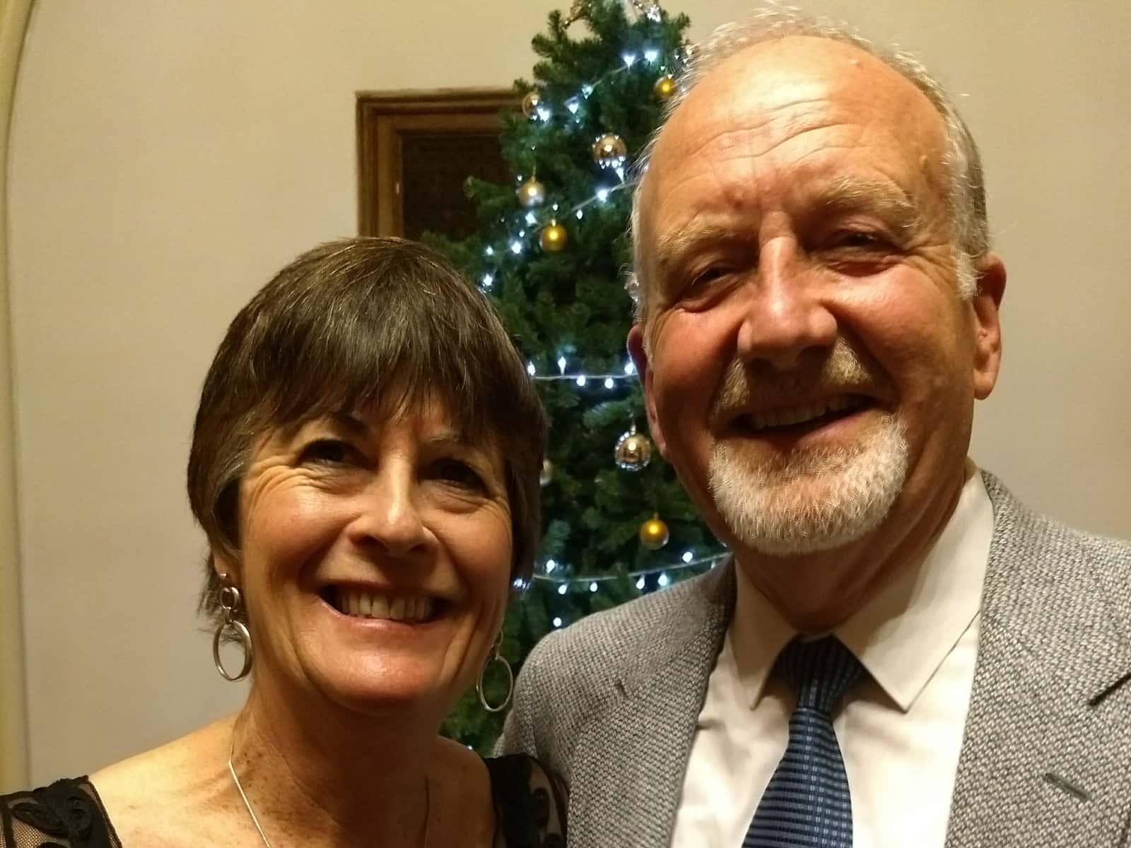 Christine & Stephen from London, United Kingdom